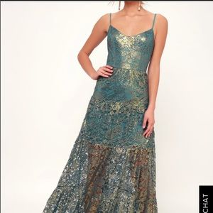 Dress the population formal gown